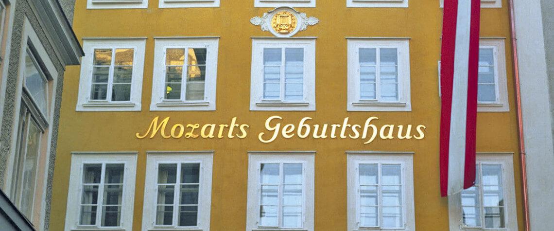 Mozart Geburtshaus - Ausflugsziele Salzburger Land & Stadt Salzburg