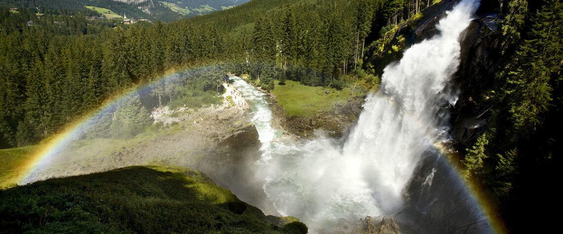 Krimmler Wasserfälle - Ausflugsziele Salzburger Land & Stadt Salzburg