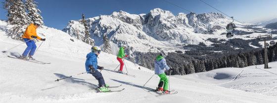Familien-Skiurlaub am Hochkönig, Ski amadé