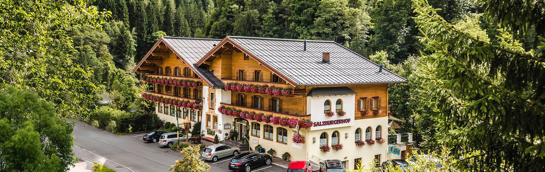 Lage & Anreise - Hotel in Dienten am Hochkönig - Salzburger Hof