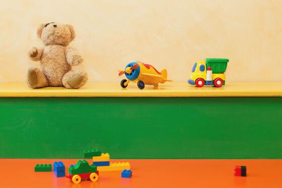 Kinderspielraum im Hotel Salzburger Hof in Dienten