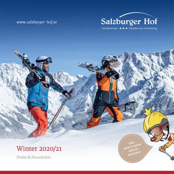 Preisliste Winter 2020-21 · Hotel Salzburger Hof in Dienten, Salzburg