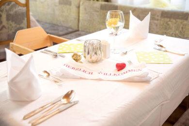 Restaurant im Familienhotel Salzburger Hof in Dienten am Hochkönig