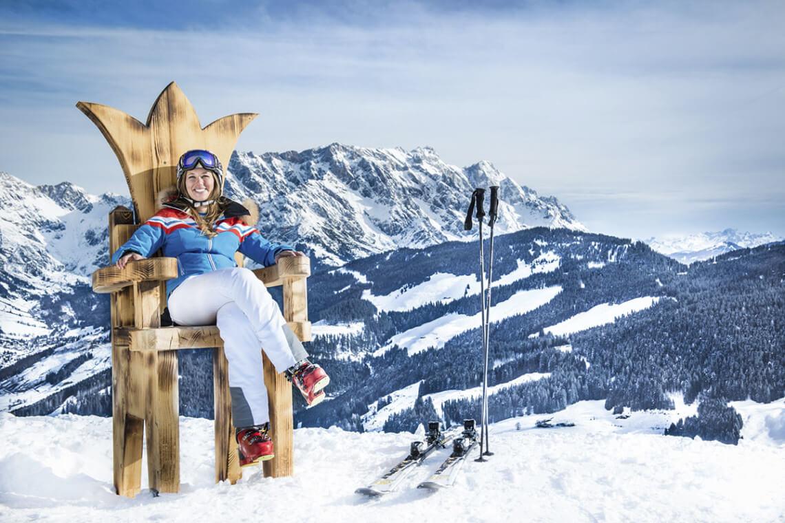 Skiurlaub In Dienten Hochk 246 Nig Salzburger Land
