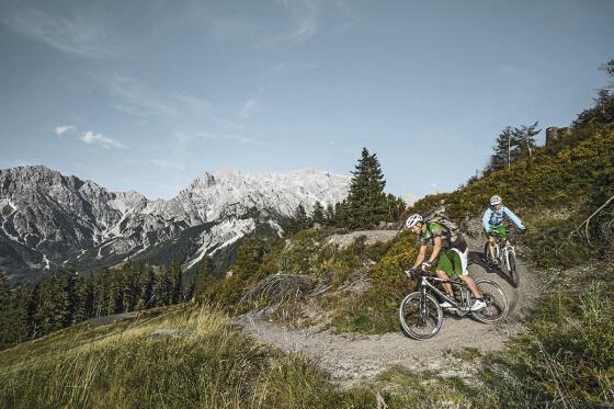 Mountainbike, E-Bike in der Region Hochkönig