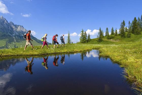 Wandern am Hochkönig, Wanderurlaub Salzburger Land