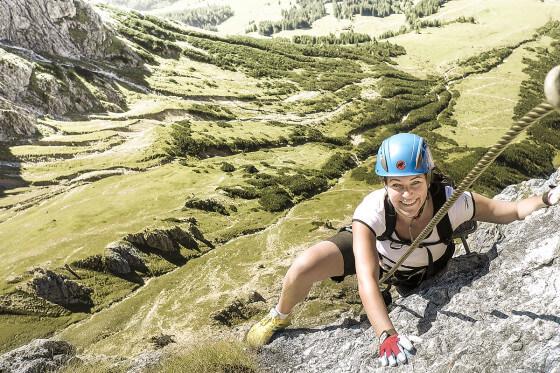 Klettern am Hochkönig, Wanderurlaub Salzburger Land