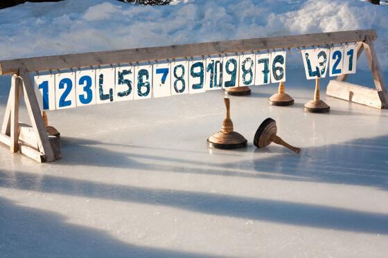 Eisstockschießen - Winterurlaub am Hochkönig - Salzburger Land