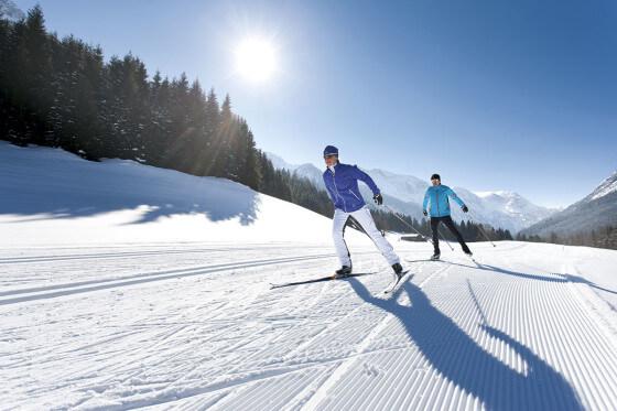 Langlaufen - Winterurlaub am Hochkönig - Salzburger Land
