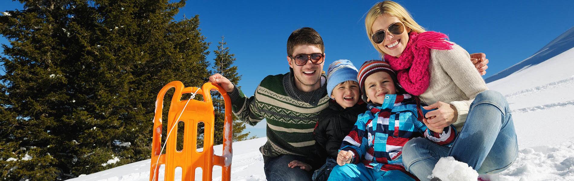 Winterurlaub am Hochkönig - Familie