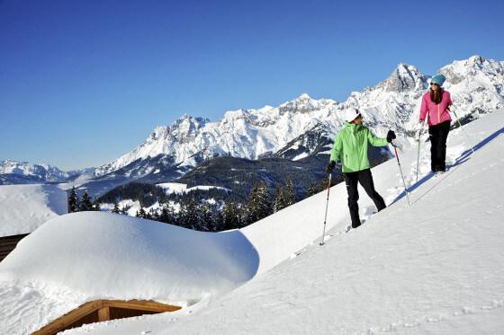 Winterwandern - Winterurlaub am Hochkönig - Salzburger Land